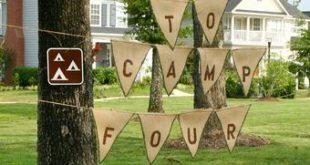 Summer Camp Birthday Party Ideas