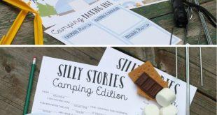 Summer Camping Printables