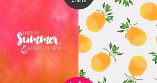 THE FREEBIE JUBILEE // 6 NEW SUMMER PRINTS (SHADOWS OF SUMMER COLLECTION)