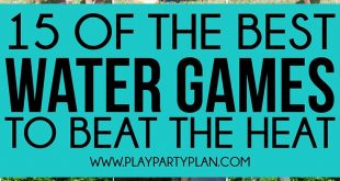 Whether you're looking for outdoor water games for kids or easy games for summ...