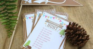 Camping / Summer Camp Birthday Party Ideas | Photo 25 of 25 | Catch My Party