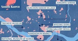 Ihr wesentlicher Reiseführer für Seoul (Infografik) - Caitlin Sipe - #Caitlin ...