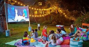 Summer Movie Night in Your Backyard