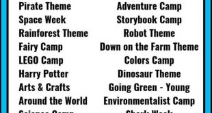 30+ Summer Camp Themes - The Best Summer Themes for Kids