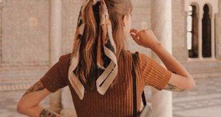 4 tolle Möglichkeiten, um diesen Sommer einen Schal zu tragen