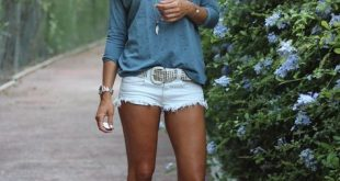 40 Hot Pants Outfits für perfekte Sommerideen 1