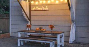 42 Sommerliche Heimwerkerprojekte für funktionale Schönheit im Freien