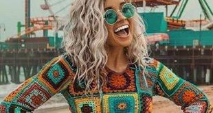 42 kostenlose Boho Summer Top Häkelanleitungen 2019, #Boho #crochettop #hakelanleitungen #kos...