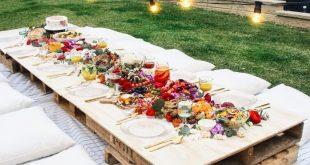 Gartenparty-Ideen, das beste Sommerfest #Sitzen #Kissen #Palettierbar - #BESTE #...
