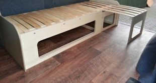 Slide-Out Campervan Bed / Table (VW T5 Forum)... - a grouped images picture - Pi...