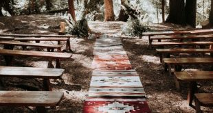This Summer Camp-Themed Wedding in the Woods of Big Bear is Filled with DIY Elements