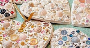 Valentine Mosaic Hearts